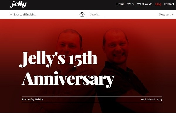 Jelly Anniversary
