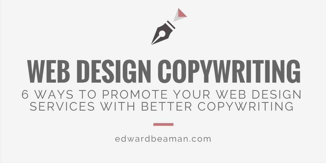 Web design copywriting services